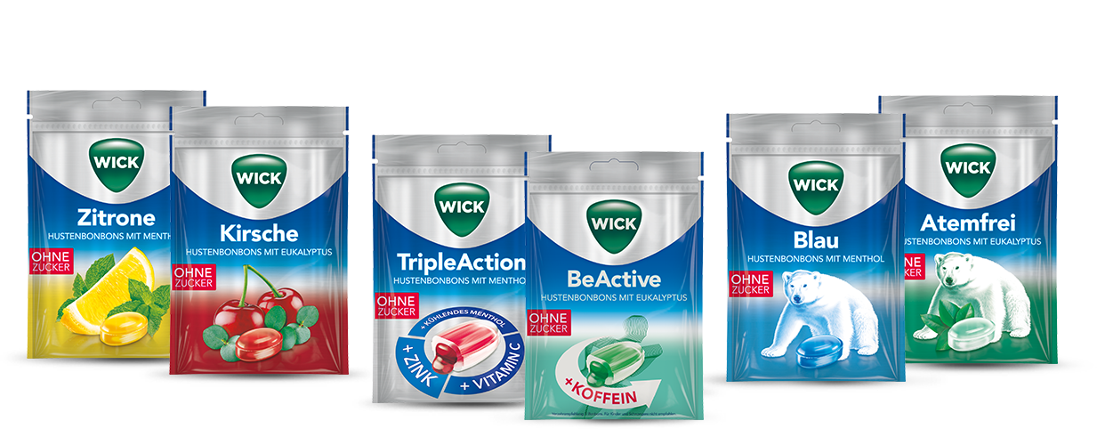 WICK Hustenbonbons – Neuester Stand.